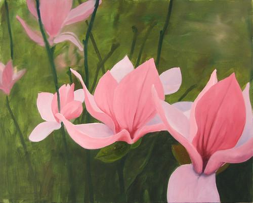 Painting Mark Dixon