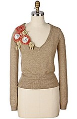 coral corsage (apples and aspen) Tags: knitting inspirations