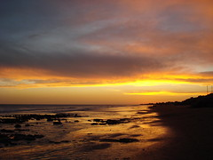 Mar del Sur - Atardecer 2 (Marxe) Tags: sunset sea argentina atardecer mar playa mardelsur