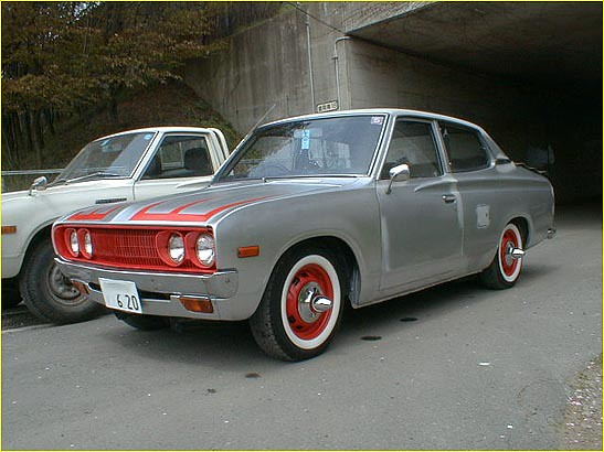 cars datsun 620 japannese