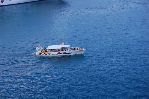 Diving Boat at St Thomas