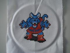 Wolf (benjibot) Tags: crossstitch crafts videogames nes dragonwarrior