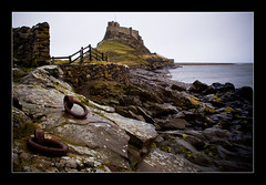 National Trust's Lindisfarne Castle on Lindisfarne or Holy Island, Berwick-upon-tweed, Nortumberland (iboogaloo) Tags: uk sea england castle rain hoop island photography j coast interestingness interesting rust rocks photographer loop unitedkingdom united steve north property kingdom gloucestershire stephen east holy explore northumberland national rainy northumbria oxford windswept trust stonewall watersedge february mead nationaltrust 2008 northeast graham berwick oxfordshire holyisland lindisfarne berwickupontweed lindisfarnecastle northeastengland besidethesea explored stevegraham iboogaloo unitedkindgom stephenjgraham stephengraham grahamstephen northnorthumberland photographeroxford photographergloucestershire photographeroxfordshire