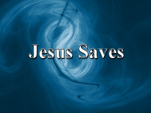 jesus desktop wallpaper. Jesus Saves - see the cross