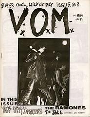 VOM fanzine #2 with Ramones