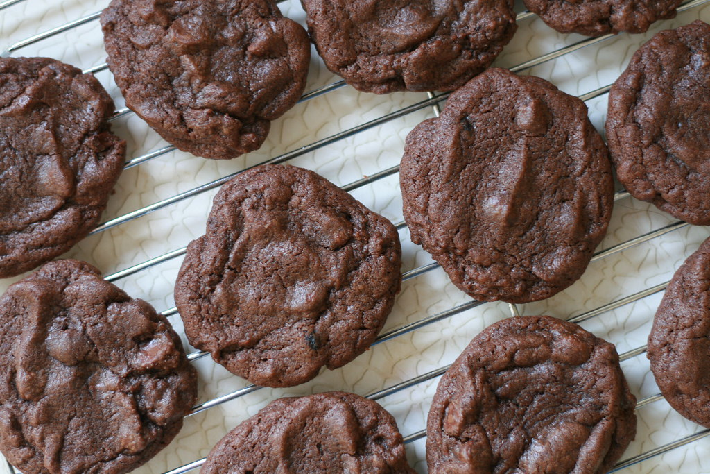Double Chocolate & Mint Cookie recipe