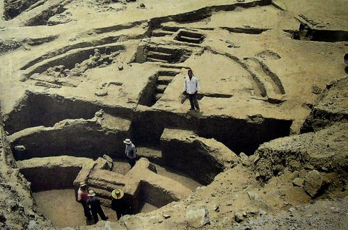The oldest construction in Peru