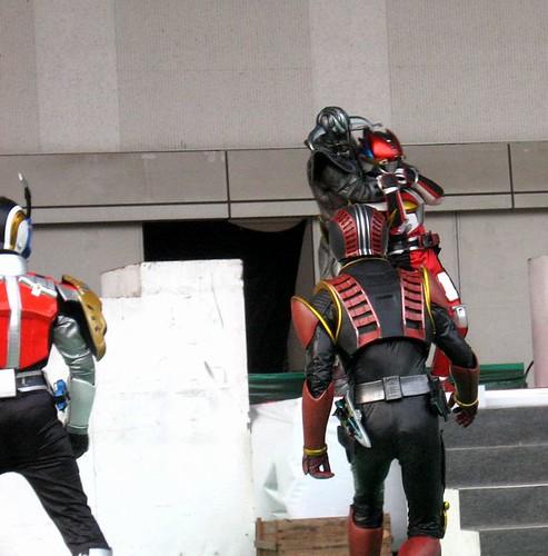 よみうりランド仮面ライダー電王ショー 2008 Mar 02