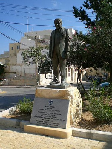 Statue of Moses Fenech.