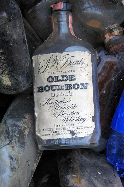 Olde Bourbon bottles