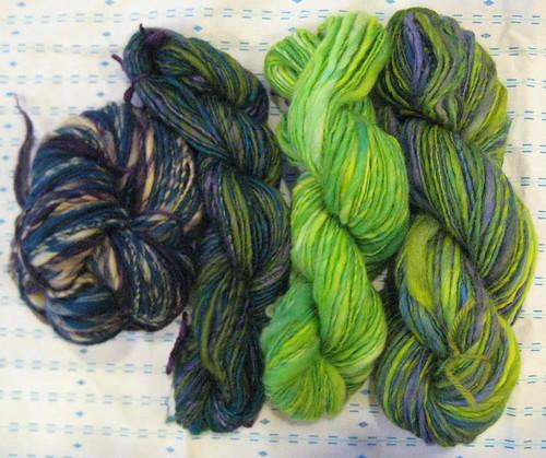 snuggling yarn