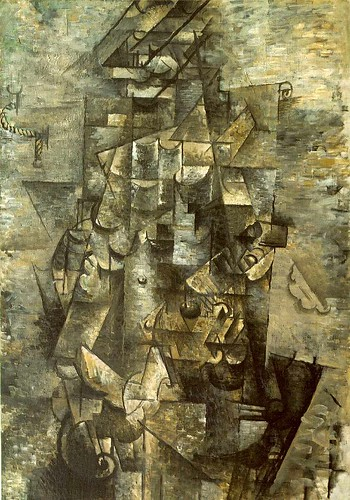 analytical cubism picasso. The Cubists favoured neutral