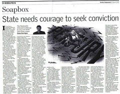 State needs courage to seek conviction