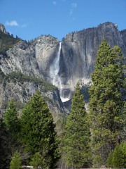 Upper Yosemite Falls (Feist, Mickey T - catchthefuture) Tags: ocean california light sunset moon lighthouse house mountain orchid reflection green chihuly beach window water glass rock sunrise landscape volcano hawaii mirror harbor waterfall washington rainbow woods funny wolf kayak comic waves desert pacific eagle wind wizard spirit stage clown tiger ghost surfing sierra tsunami corona yosemite zen elin whale deathvalley orca bodie friday enlightenment tornado feist bluemoon lightpainter doane