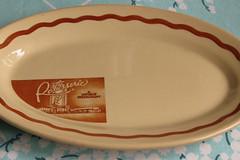 Rotisserie- A unique Restaurant (prima seadiva) Tags: vintage dish tan diner retro collection dishes restaurantware tanbody restaurantchina