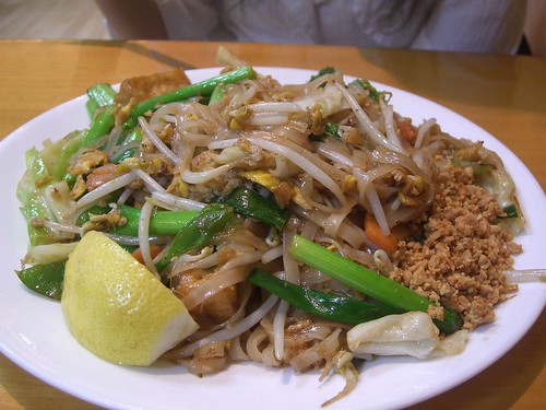 Pad Thai Vegetarian - Spicy Noodle