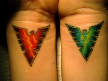 phoenix tattoos for men