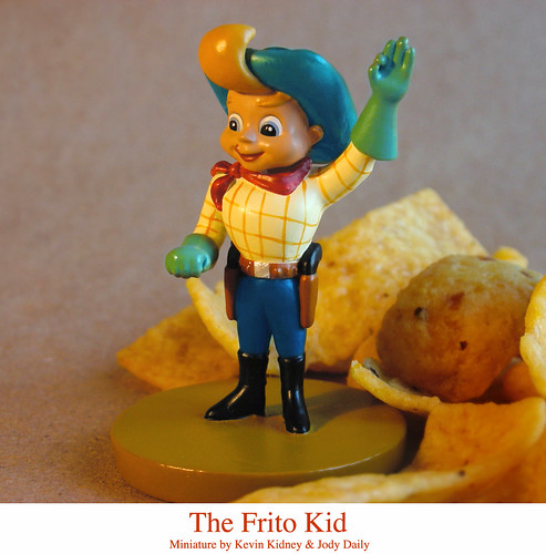 Disneyland Miniature Frito Kid