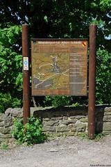 Panneau d'informations touristiques