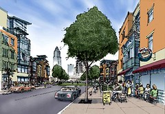 vision for Riverview HOPE VI project, Cleveland (courtesy Goody Clancy)