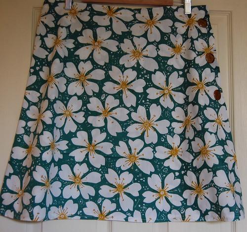 A line wrap skirt