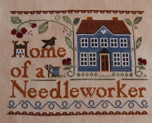Home of a Needleworker (too!) finished!