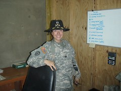 P4200021 (Mszczuj) Tags: woman girl lady female soldier army fight war gun iraq chick east terror middle tough