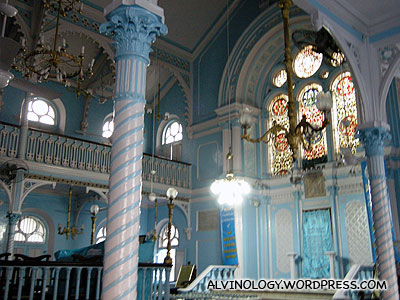 The synagogue interior