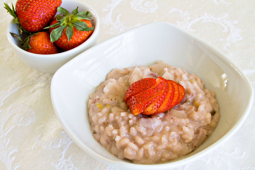 Strawberries and Cream Risotto - 6