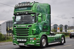 Outdoor Services Scania R730 R 77 APM (truck_photos) Tags: athlone fullofthepipe irishtruckshow
