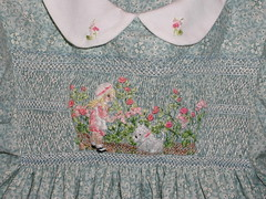 Walking in the Flowers - Detail - Dress #406