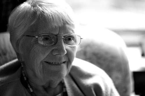 365 Portraits - #170 ~ Dorothy 'Nan' Godby