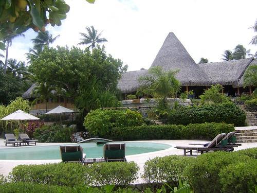 Piscina del Bora Bora Pearl Beach Resort & Spa