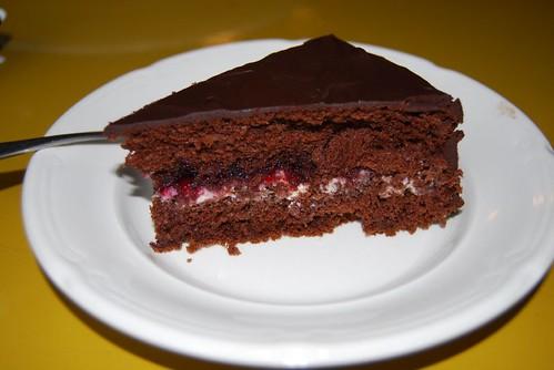 chocoladetaart met noorderkrieken 022
