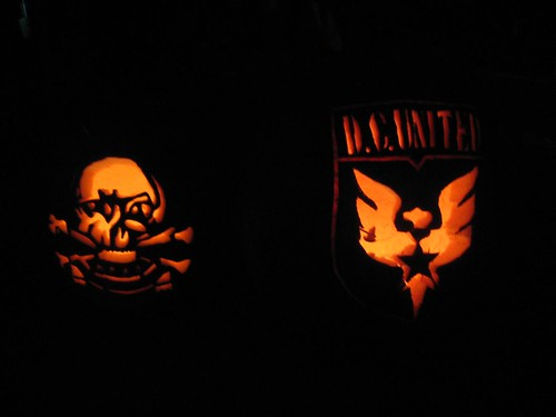 DC United Jack-o-lanterns