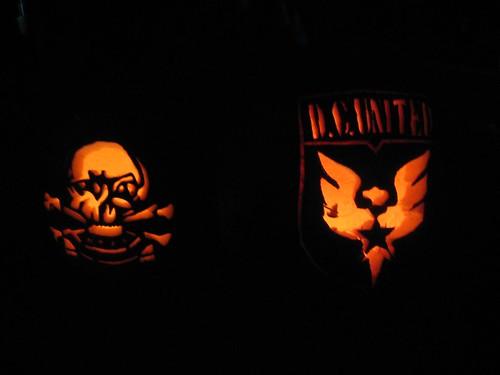 DC United Jack-o-lanterns