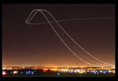 UPS 757 Night Departure (Kris Klop) Tags: longexposure light motion night plane canon airplane lights climb fly flying airport long exposure aircraft aviation jets jet off cargo des fluid ups depart planes take boeing takeoff dsm 757 moines desmoines b757 kdsm everywherewalks nginationalgeographicbyitalianpeople