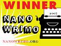 """I """"won"""" Nanowrimo!"""