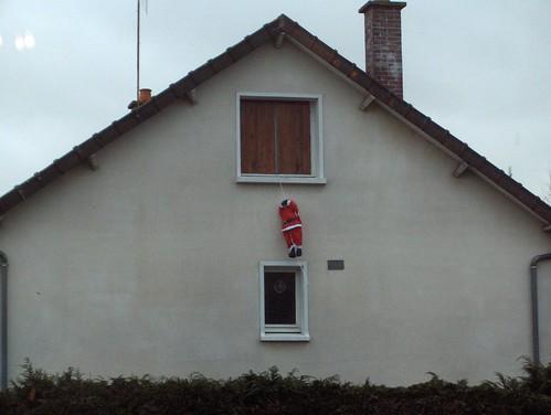 Père Noël pendu