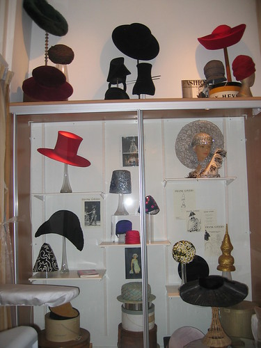 Picture of the hat museum in Utrecht, click to enlarge