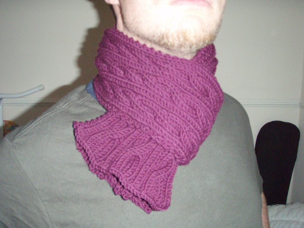Lincs Shopping Scarf by Hayzee C, on Flickr