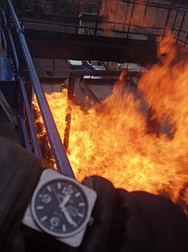 Bell & Ross Fire Sequence: 5