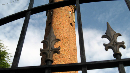 Perrott's Folly in Ladywood Birmingham.  Is this one of Tolkien's Two Towers?  Photo by suchnone