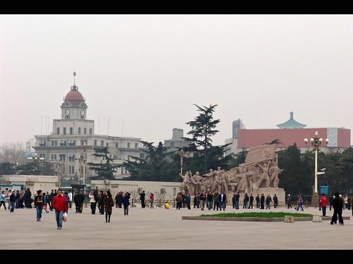 北京 Beijing - 天安門 Tienanmen Square