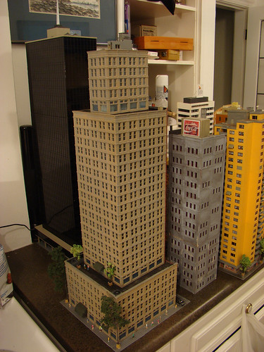 how to make a skyscraper model
