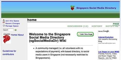 Singapore Social Media Directory » home