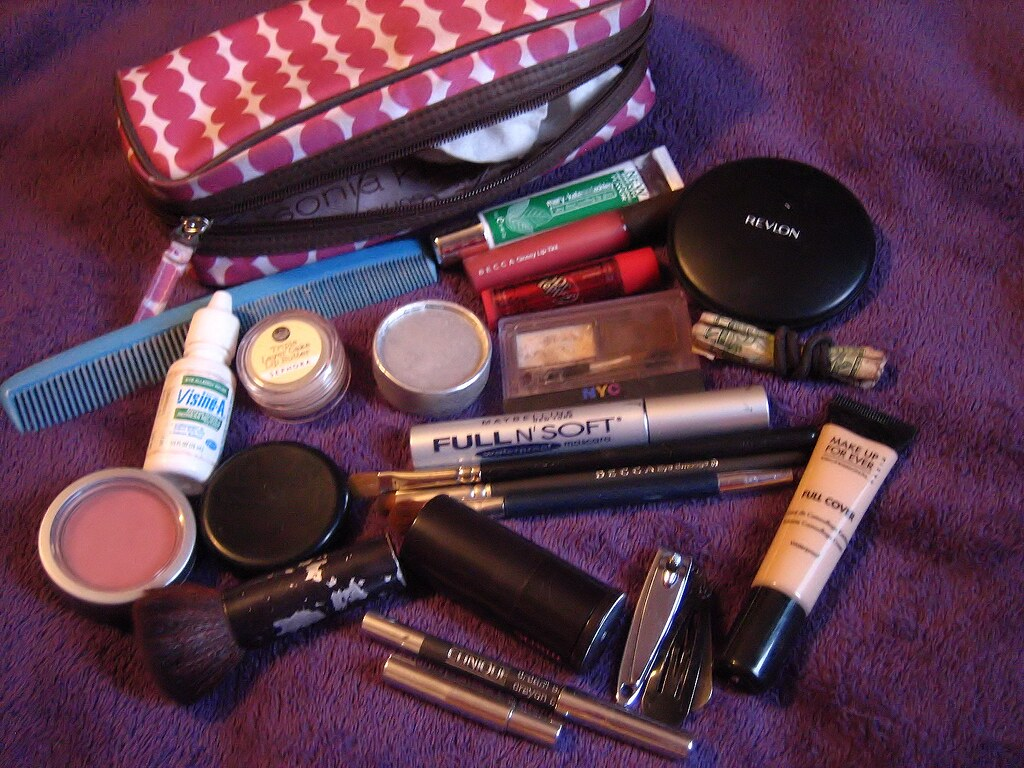 It's in the (makeup) Bag.