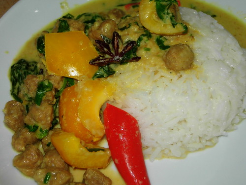 vegetarian mutton curry