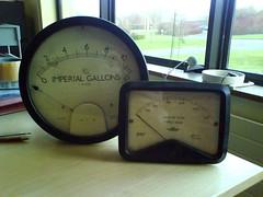 Dieselpunk FTW (Irregular Shed) Tags: 1960s meters gauges steampunk dieselpunk