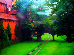 Malbork Castle Fantasy Gardens (janetfo747) Tags: red brick tower castle church fairytale garden colorful poland polish baltic unesco worldheritagesite artsy knights delight dome medievaltimes fabulous soe malbork teutonic malborkcastle teutonicorder zamekwmalborku abigfave platinumphoto colorphotoaward aplusphoto diamondclassphotographer flickrdiamond maryscastle diemarienburg vividstrickinghalloffame aboveandbeyondlevel4 aboveandbeyondlevel1 aboveandbeyondlevel2 aboveandbeyondlevel3